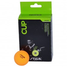 Deals, Discounts & Offers on Gaming - Stiga Cup Table Tennis Ball - Pack of 6