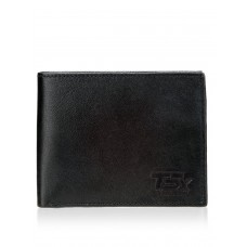 Deals, Discounts & Offers on Accessories - TSX Men's Black Pure Leather Wallet