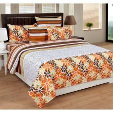 Deals, Discounts & Offers on Home Decor & Festive Needs - Home Elite Floral Print 100% Cotton Double Bedsheet