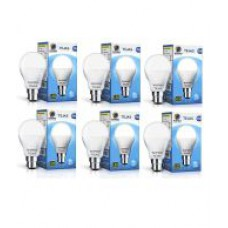 Deals, Discounts & Offers on Electronics - Wipro Tejas 9W LED Bulb - Pack up 6
