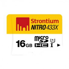 Deals, Discounts & Offers on Mobile Accessories - Strontium Nitro 16GB Class10 UHS1 MicroSDHC Card
