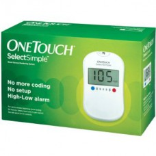 Deals, Discounts & Offers on Health & Personal Care - One Touch Select Glucose Monitor with 10 Strips