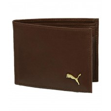 Deals, Discounts & Offers on Men - Flat 72% off on Puma Brown Leather Wallet