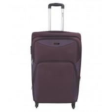 Deals, Discounts & Offers on Accessories - Safari Flora Small Purple 4 wheel trolley