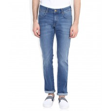 Deals, Discounts & Offers on Men Clothing - Wrangler Blue Skanders Slim Fit Jeans