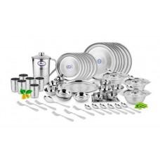 Deals, Discounts & Offers on Home Appliances - Flat 15% off on Airan Dinner Set Diamond 62 Pcs
