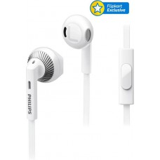 Deals, Discounts & Offers on Mobile Accessories - Philips SHE3205 Wired Headset With Mic