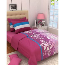 Deals, Discounts & Offers on Home Decor & Festive Needs - Zyne Cotton Double Bedsheet with 2 Pillow Covers