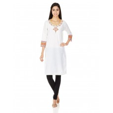 Deals, Discounts & Offers on Women Clothing - Rangriti Women's Straight Fit Kurta