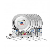 Deals, Discounts & Offers on Home Appliances - Airan Stainless Steel Dinner Set