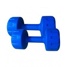 Deals, Discounts & Offers on Sports - Body Fit Set Of Pvc Dumbbells 3 Kg Each