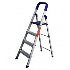 Deals, Discounts & Offers on Home Appliances - Branco Folding Aluminium Ladder - Home Pro 4 Steps