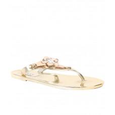 Deals, Discounts & Offers on Foot Wear - Carlton London Gold Flats