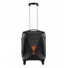 Deals, Discounts & Offers on Electronics - Safari X-Cross Black 4 Wheel Hard Luggage Trolley