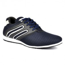 Deals, Discounts & Offers on Foot Wear - Footlodge Mens Blue White Lace-Up Casual Shoes