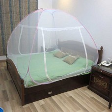 Deals, Discounts & Offers on Home Decor & Festive Needs - Flat 26% off on Healthgenie Double Bed Mosquito Net