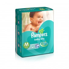 Deals, Discounts & Offers on Baby Care - Pampers Medium Size Diapers