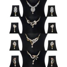 Deals, Discounts & Offers on Earings and Necklace - Flat 82% off on Jewels Galaxy Alloy Jewel Set