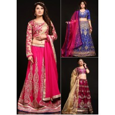Deals, Discounts & Offers on Women Clothing - Chhabra 555 - Wedding Wear Lehenga