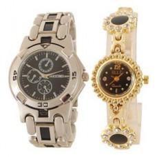 Deals, Discounts & Offers on Men - Flat 64% off on Buy 1 Get 1 Free Wrist Watch