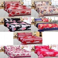 Deals, Discounts & Offers on Home Decor & Festive Needs - Sunlite Enterprises Double Bedsheets Pack of 7