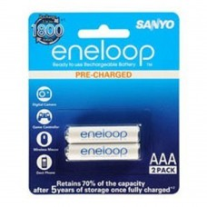 Deals, Discounts & Offers on Electronics - Sanyo BK-4MCCE/2BN Eneloop AAA 800 mAh Rechargeable Battery