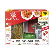 Deals, Discounts & Offers on Food and Health - Chef's Basket Red Sauce Pasta and Soup Dinner Kit for 2