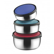 Deals, Discounts & Offers on Home Appliances - Classic Essentials Steel Food Container Set of 3