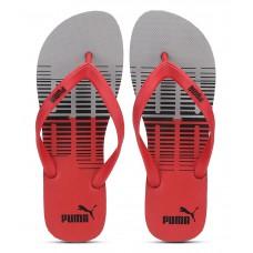 Deals, Discounts & Offers on Foot Wear - Puma Sam Red Flip Flops