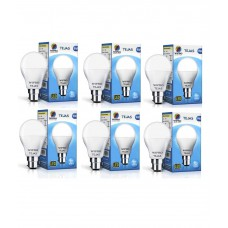 Deals, Discounts & Offers on Electronics - Wipro Tejas 9W -Pack of 6  LED Bulb