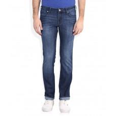 Deals, Discounts & Offers on Men Clothing - Wrangler Blue Skanders Slim Fit Jeans