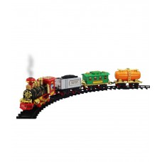 Deals, Discounts & Offers on Gaming - Zeemon Real Smoke Sound Light Music Train Track Set