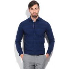 Deals, Discounts & Offers on Men Clothing - Arrow Newyork Men's Checkered Formal Blue Shirt