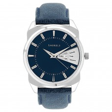 Deals, Discounts & Offers on Men - Laurels Analog Blue Dial Men's Watch - Lo-Inc-203