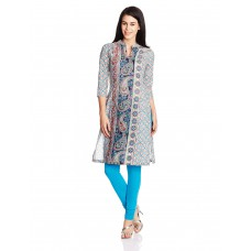 Deals, Discounts & Offers on Women Clothing - Rain and Rainbow Women's Straight Kurta