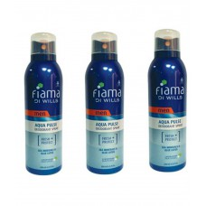 Deals, Discounts & Offers on Health & Personal Care - Fiama Di Wills Aqua Pulse Deodorant Spray Buy 2 Get 1 Free - For Men