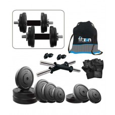 Deals, Discounts & Offers on Sports - Fitzon 30 Kg DM Combo 3 Home Gym