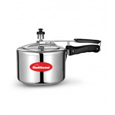 Deals, Discounts & Offers on Home Appliances - Sunflame Silver Aluminium Pressure Cooker - 3 Ltr