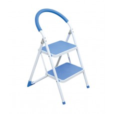 Deals, Discounts & Offers on Home Appliances - Ozone Silver & Blue 2 Step Kitchen Ladder