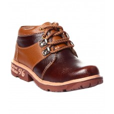Deals, Discounts & Offers on Foot Wear - Trilokani Brown Boots