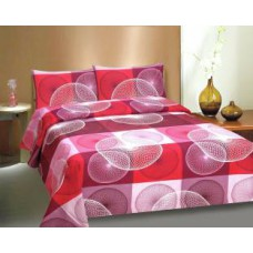 Deals, Discounts & Offers on Home Decor & Festive Needs - Ctm Textile Mills Polycotton Abstract Queen sized Double Bedsheet