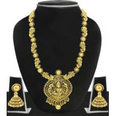 Deals, Discounts & Offers on Earings and Necklace - Zaveri Pearls Zinc Jewel Set