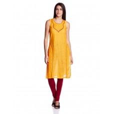 Deals, Discounts & Offers on Women Clothing - Aurelia Women's Straight Kurta