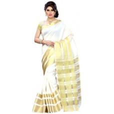 Deals, Discounts & Offers on Women Clothing - Mimosa Solid Kanjivaram Silk Sari