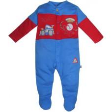 Deals, Discounts & Offers on Baby & Kids - FS Mini Klub Baby Boy's Blue Sleepsuit