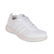 Deals, Discounts & Offers on Foot Wear - Adidas White Sport Shoes For Kids