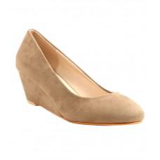 Deals, Discounts & Offers on Foot Wear - Carlton London Beige Wedges Heels