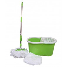 Deals, Discounts & Offers on Home & Kitchen - Easy Clean Green and White 8 Leter Magic Mop with 3 Extra Mop Heads