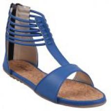 Deals, Discounts & Offers on Foot Wear - Jade Womens Blue Zip Sandals