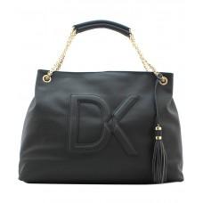Deals, Discounts & Offers on Women - Diana Korr Black Signature Women's Shoulder Bag